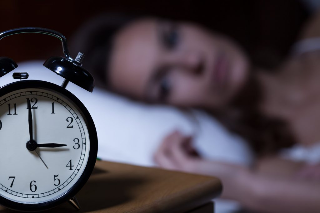 stress and sleep issues